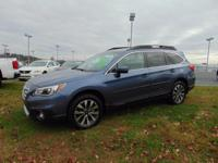 Our Carfax One Owner, 2016 Subaru Outback 2.5i Limited