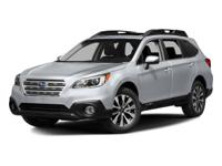 Options:  2016 Subaru Outback 2.5I Limited|Wilderness