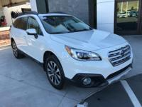 Clean Carfax. Limited Outback with Eyesight and