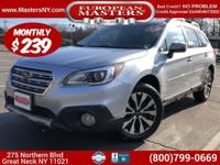 This Lovely Silver 2016 Subaru Outbreak AWD LTD Sport