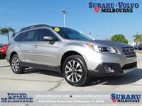 SUBARU CERTIFIED PRE-OWNED 2016 OUTBACK 2.5i
