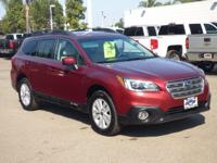 Options:  2016 Subaru Outback 4Dr Wgn 2.5I Premium