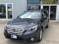 Introducing the 2016 Subaru Outback! Very clean and