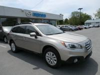 Previous Rental. Subaru's 2016 Outback crossover wagon