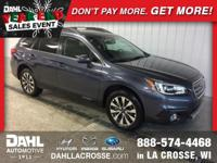 Recent Arrival! 2016 Subaru Outback 3.6R Limited
