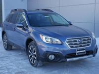 Options:  2016 Subaru Outback 3.6R Limited|Crystal