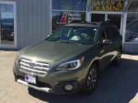 Introducing the 2016 Subaru Outback! This vehicle