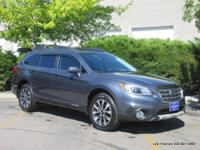 2016 Outback 3.6R Limited in grey with black leather