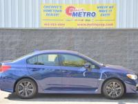 New Price! Clean CARFAX. Blue 2016 Subaru WRX AWD!!!
