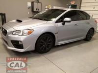 Options:  2016 Subaru Wrx 4Dr Sdn Man|4 Cylinder