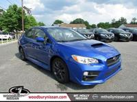 All Wheel Drive! Gasoline! This 2016 WRX is for Subaru