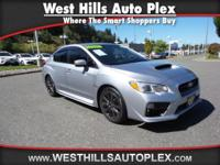 WRX BASE 4D SEDAN  Options:  Abs Brakes (4-Wheel)|Air