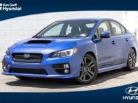 Spotless One Clean Carfax. Loaded Limited AWD WRX.