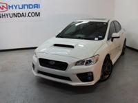 New Price!2016 Subaru WRXCARFAX One-Owner. Clean