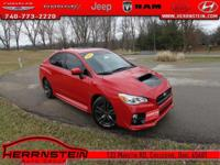 WRX Subaru 2.0L DOHC Intercooled Turbocharged 18/24mpg