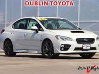 Dublin Toyota is pleased to offer this 2016 Subaru WRX.