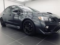 Recent Arrival! 2016 Subaru WRX STi Limited Dark Gray