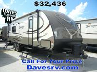 2016 Surveyor 251RKS REAR KITCHEN TRAVEL TRAILER As