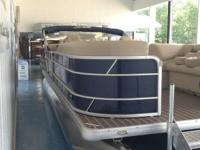 Brand new 2016 model Sweetwater SW2286SLC3 pontoon!