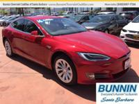 Options:  2016 Tesla Model S Maroon|Gets Great Gas