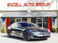 Introducing the Electric 2016.5 Tesla Model P100 D AWD.