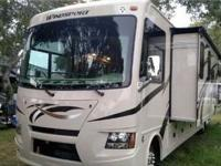 This is a Class A Bunkhouse 2016 Thor Windsport 34J
