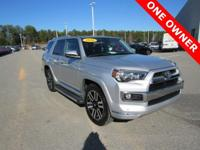 CARFAX One-Owner. Clean CARFAX. 2016 Toyota 4Runner