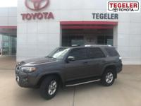 2016 Toyota 4Runner SR5 Premium Gray RWD 5-Speed