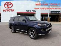 2016 Toyota 4Runner Limited 11 Leather. Awards: *