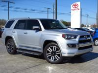 This 2016 Toyota 4Runner Limited  will sell fast! This