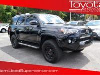 Options:  2016 Toyota 4Runner Limited|Midnight Black