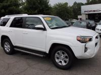 This 2016 Toyota 4Runner SR5 in Super White features: