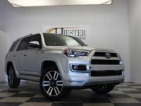 Options:  2016 Toyota 4Runner Limited|Silver|Carfax