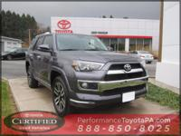 ONE OWNER!! 2016 TOYOTA 4RUNNER LIMITED!! 4WD, 4.0L V6,