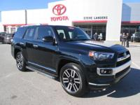 Recent Arrival! 2016 Toyota 4Runner Limited 4.0L V6