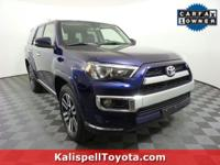Options:  2016 Toyota 4Runner Limited|Nautical Blue