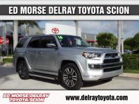 NEW PRICE FOR 2017!!!!This 2016 Toyota 4Runner Limited