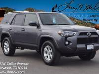 This 2016 Toyota 4Runner SR5 comes with Black/Gray