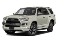 Options:  2016 Toyota 4Runner Limited|/|V6 4.0 L