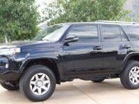 New Price! 4WD. CARFAX One-Owner. Clean CARFAX. Black