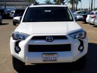 Options:  2016 Toyota 4Runner Sr5|Super White|Exterior
