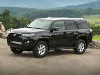 4Runner SR5 and Toyota Certified. Won't last long! Best