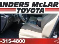 Landers McLarty Toyota is honored to present a