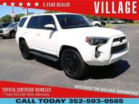 Clean CARFAX. 2016 Toyota 4Runner 4.0L V6 SMPI DOHC