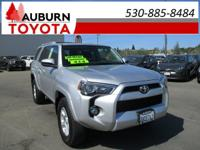 LOW MILES, 1 OWNER, 4WD!  This 2016 Toyota 4Runner SR5