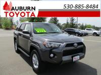 LOW MILES, 4WD, BLUETOOTH!  This 2016 Toyota 4Runner
