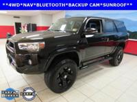 ONE OWNER, LEATHER, SUNROOF, 4Runner SR5, 4D Sport