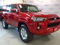 Redesigned for 2016, the Toyota 4Runner is stylish