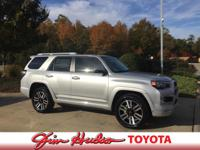 Options:  2016 Toyota 4Runner 4Wd 4Dr V6 Limited. Want