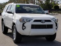 CARFAX One-Owner. Clean CARFAX. White 2016 Toyota